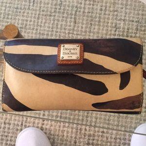 Dooley & Bourne Zebra Full Sized Wallet
